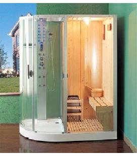 Kombinace parního boxu a finské sauny B-901