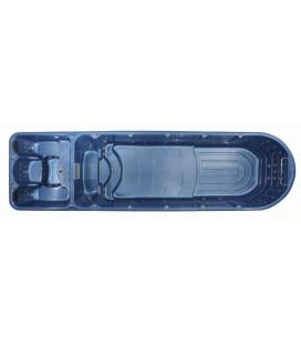 SWIM SPA - Venkovní vířivý bazének s protiproudem WS-S08M 585x222x111