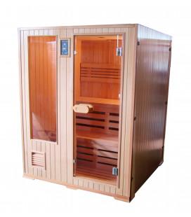Finská sauna Sanotechnik Helsinki 150x150x194cm